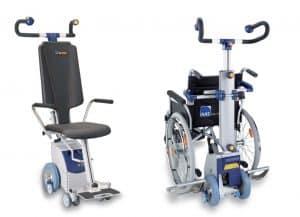 S-Max with SDM7 Wheelchair Rack