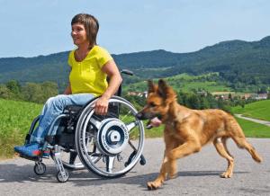 Servo Powered Wheelchair