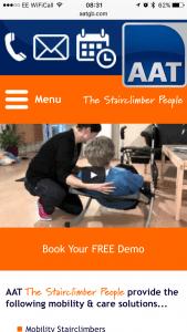 AATGB Mobile Website