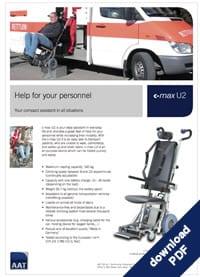 Download Brochure | C-Max U2 Ambulance Version