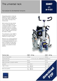 Download Brochure | SD7 Wheelchair Rack
