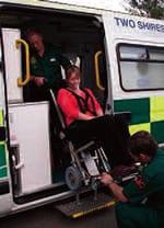 Ambulance Powered Wheelchair
