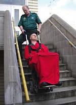 Ambulance Stairclimber Patient
