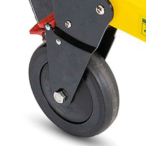 Lockable Rear Wheels